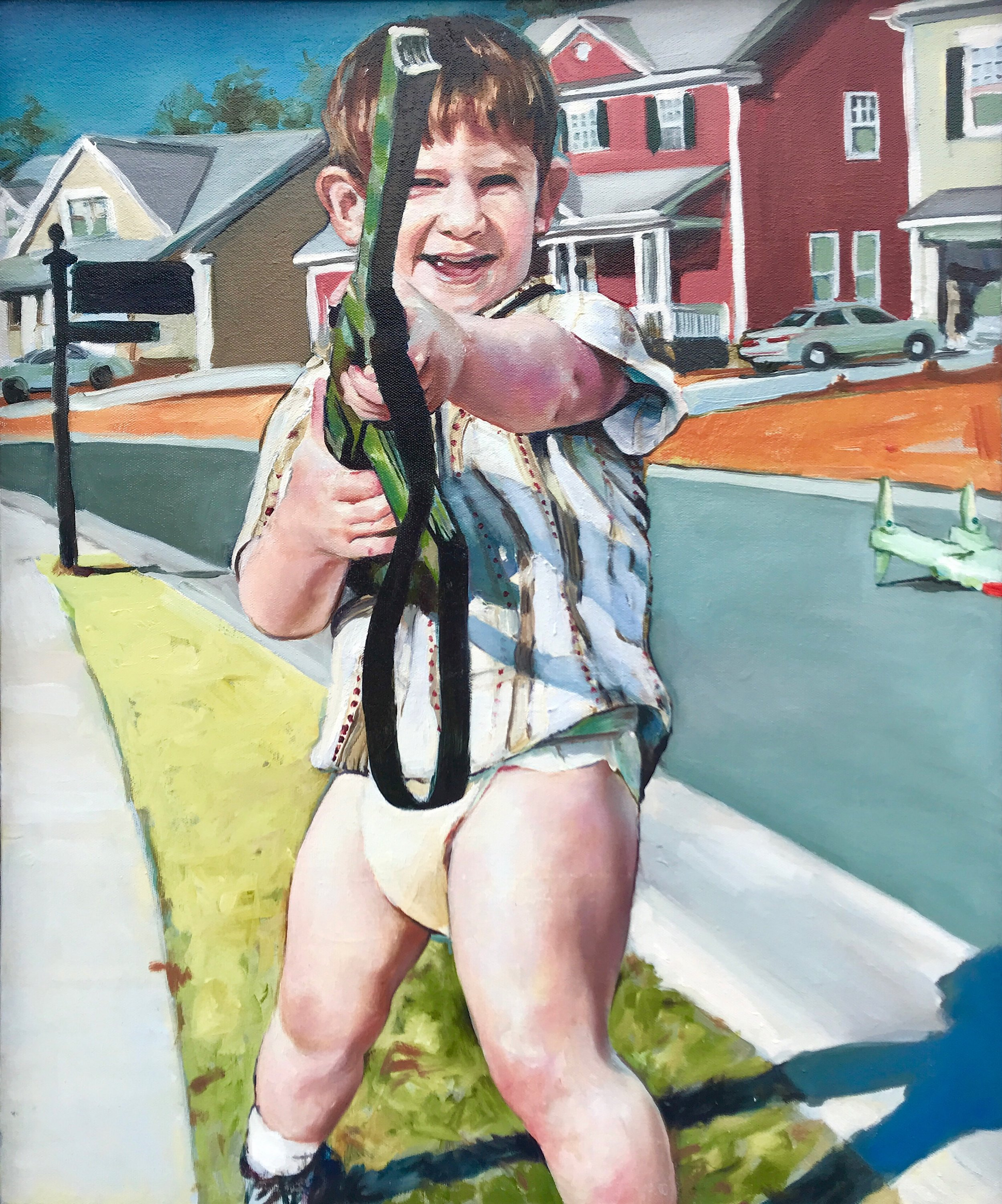 Child With Rifle, 2011