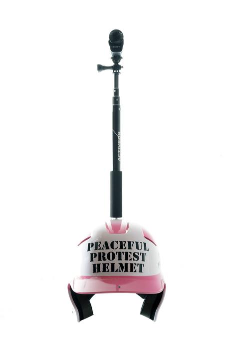 Peaceful Protest Helmet #7