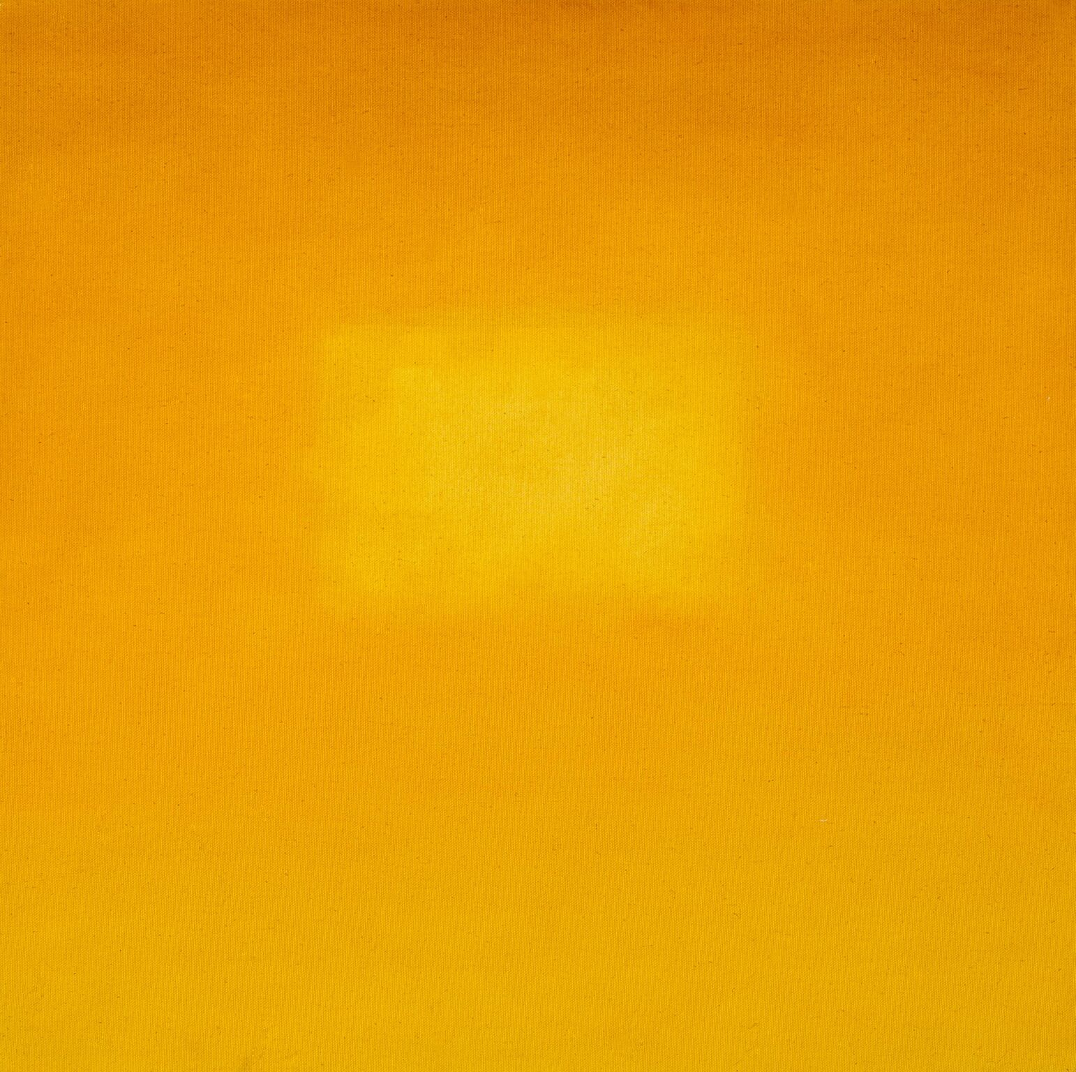 Glenn Carter ,    Amber no.5, 1994,  Oil on Canvas, 24 x 24 in.