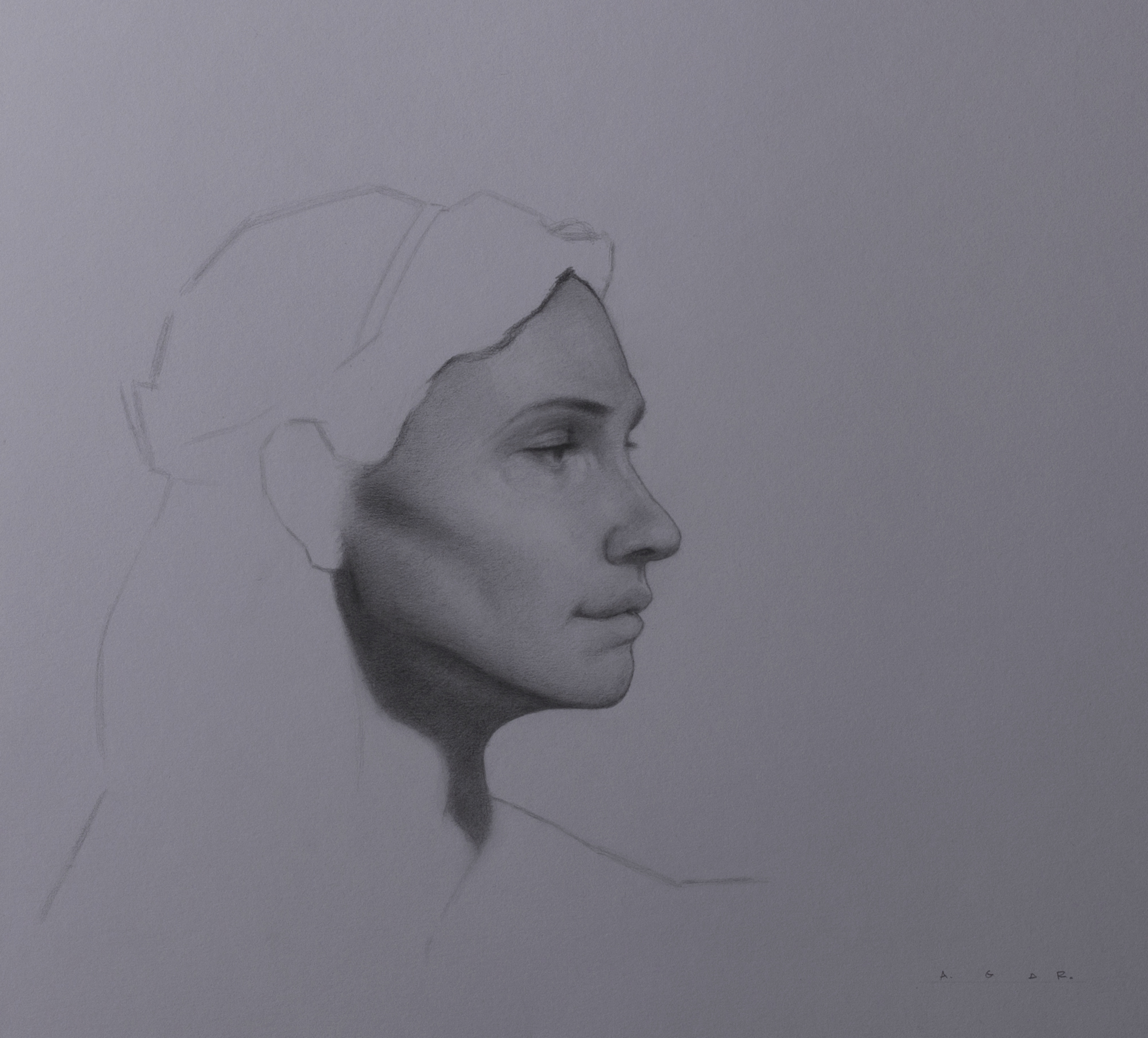 """study of maura""  graphite"
