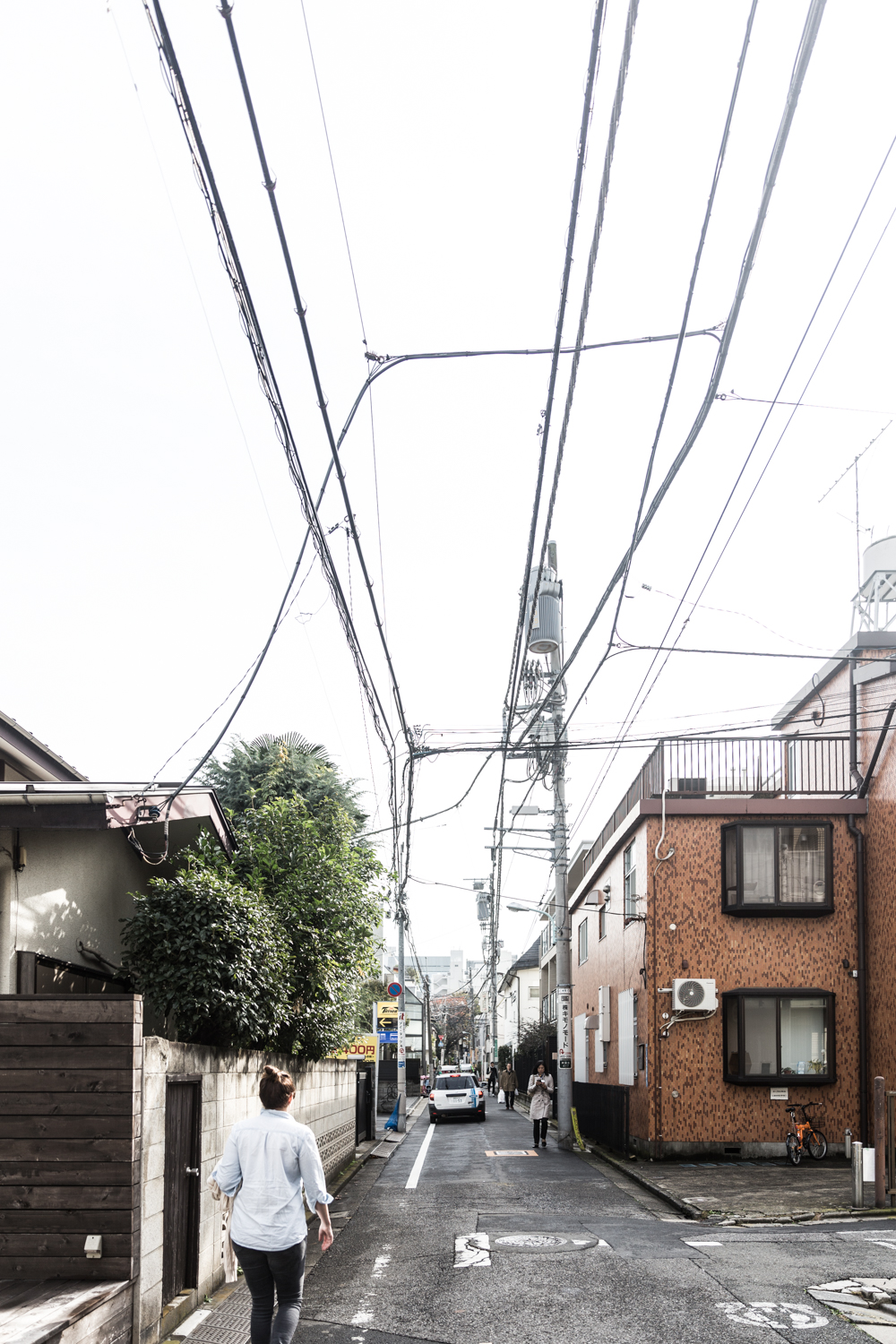 The backstreets of Omotesando
