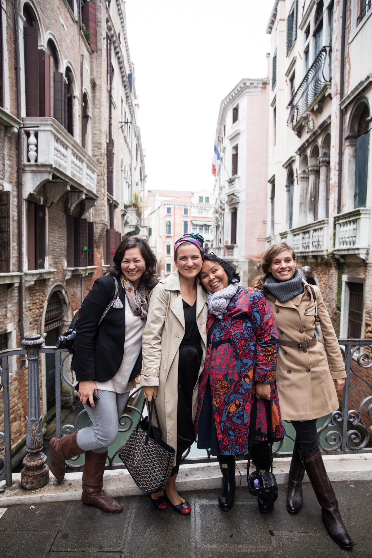 Emiko, Skye, Luisa and Valeria