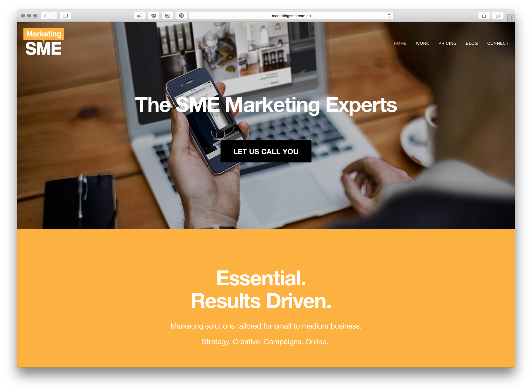 Mind Methods small business marketing website is launched, called Marketing SME