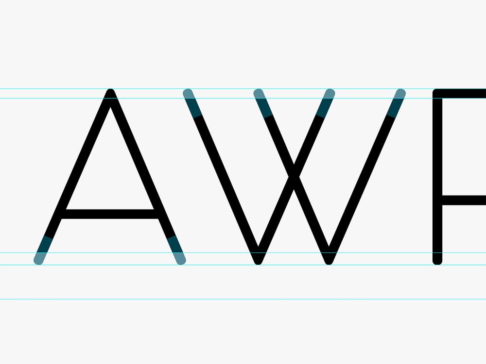 Construction of new logo