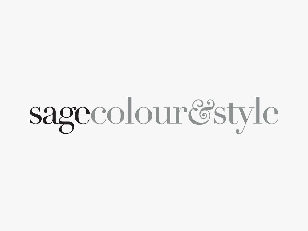 Logo design for Sage Colour & Style