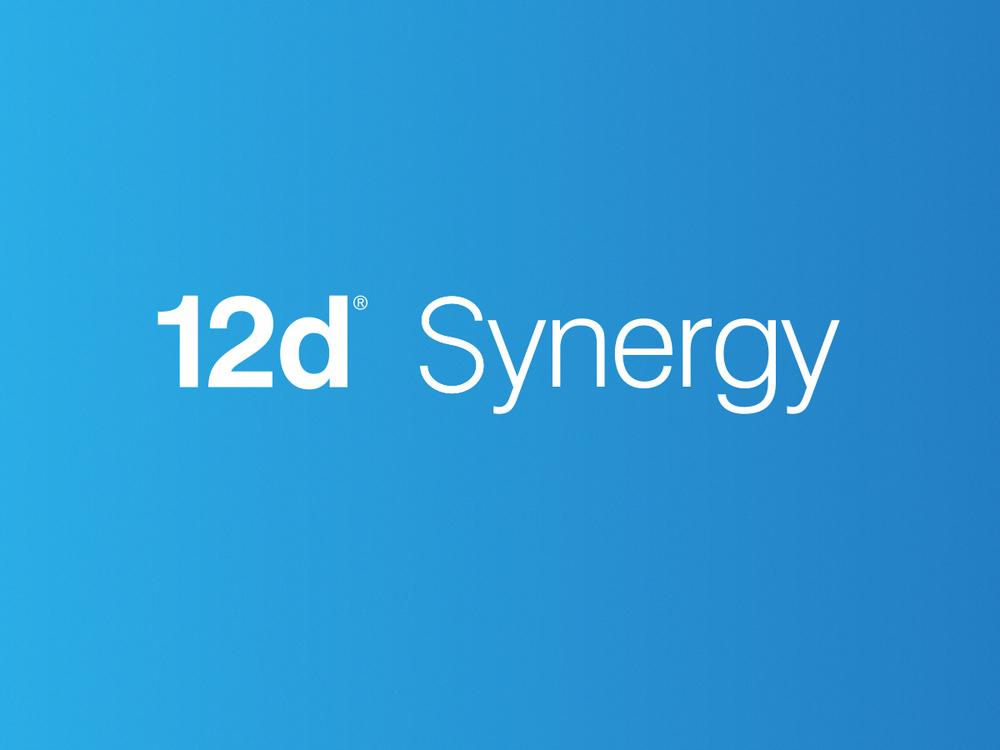 12d Synergy logo design