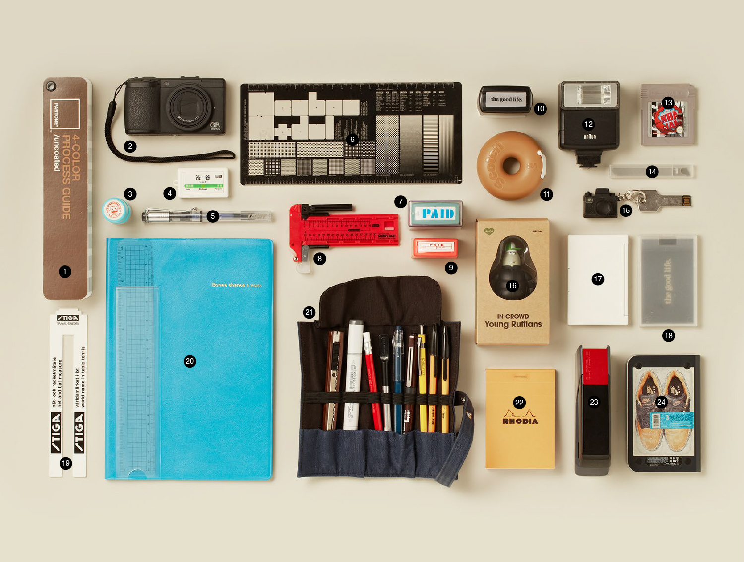 Featured on   Things Organized Neatly    #thingsorganizedneatly  © Good Life Creative