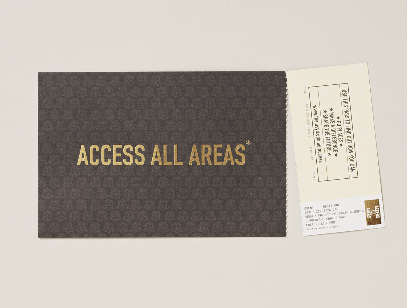 "'Access All Areas"" Integrated Campaign"