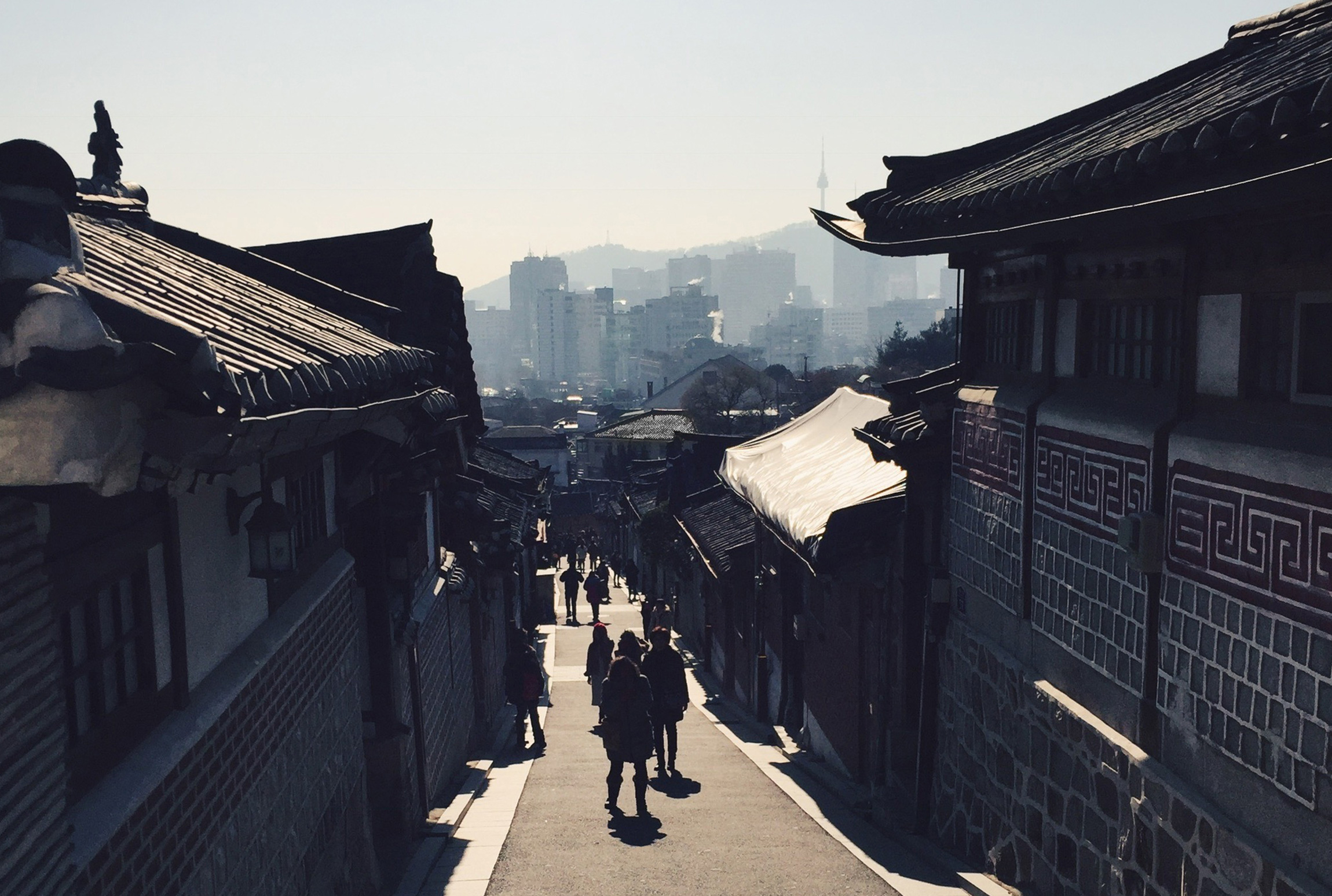 Seoul has a rich and complex history, the Bukchon Village is a living sample from a bygone era.