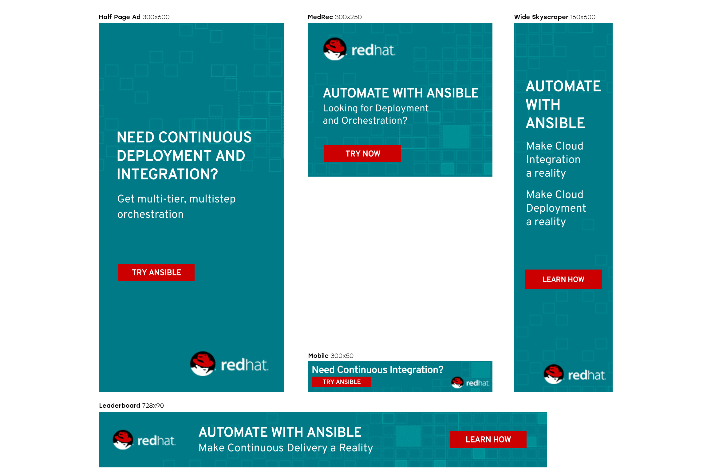 Ansible banner suite