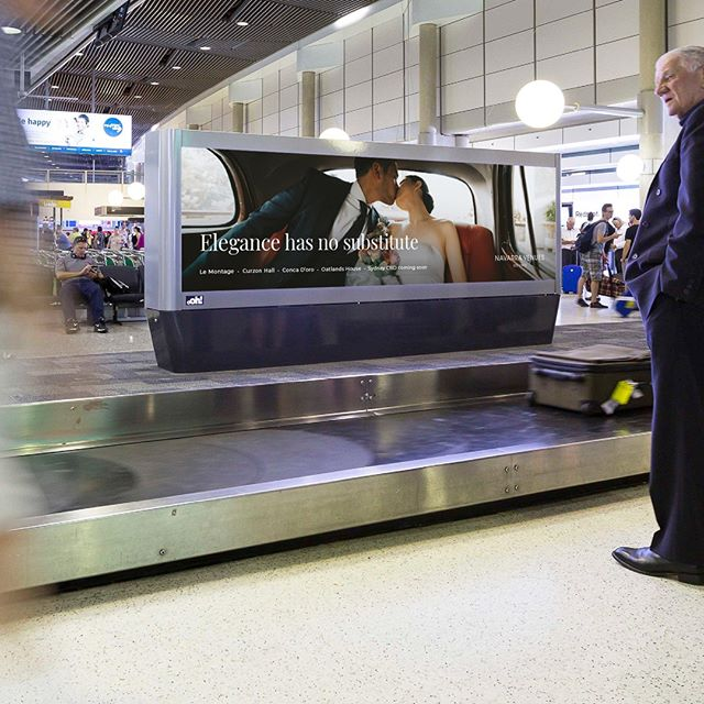 If you've traveled recently you may have seen our billboard campaign while picking up your luggage at Australian airports. #onlyatnavarravenues