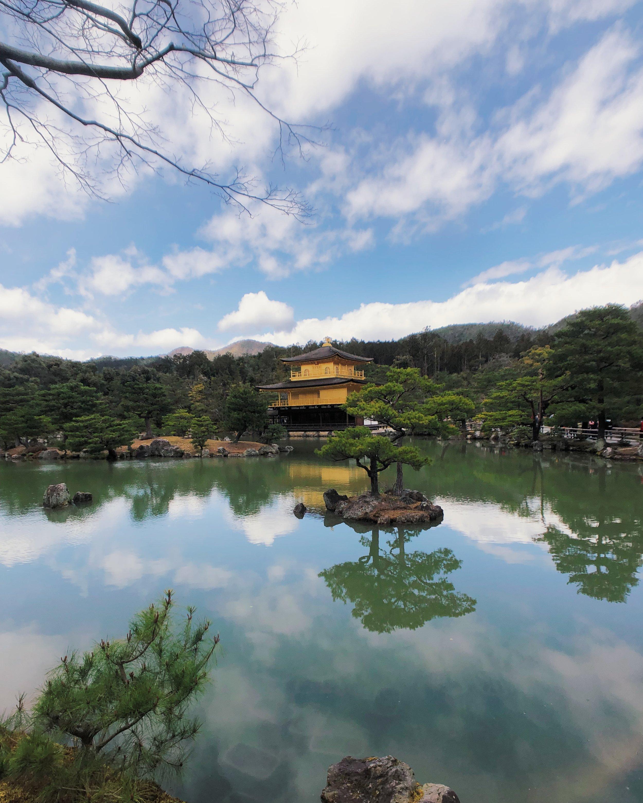 Golden Pavilion, Kyoto.