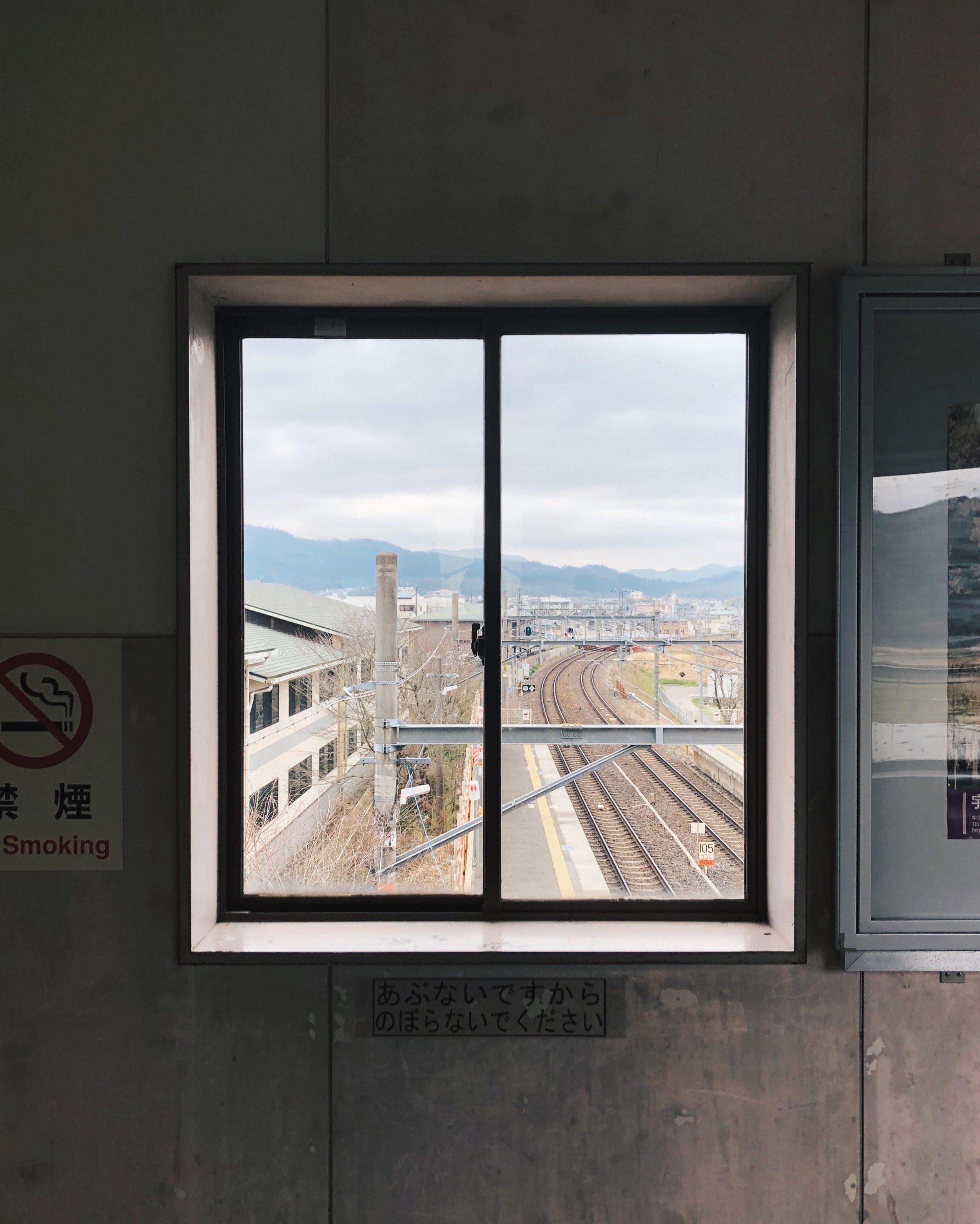 Window, Kyoto.