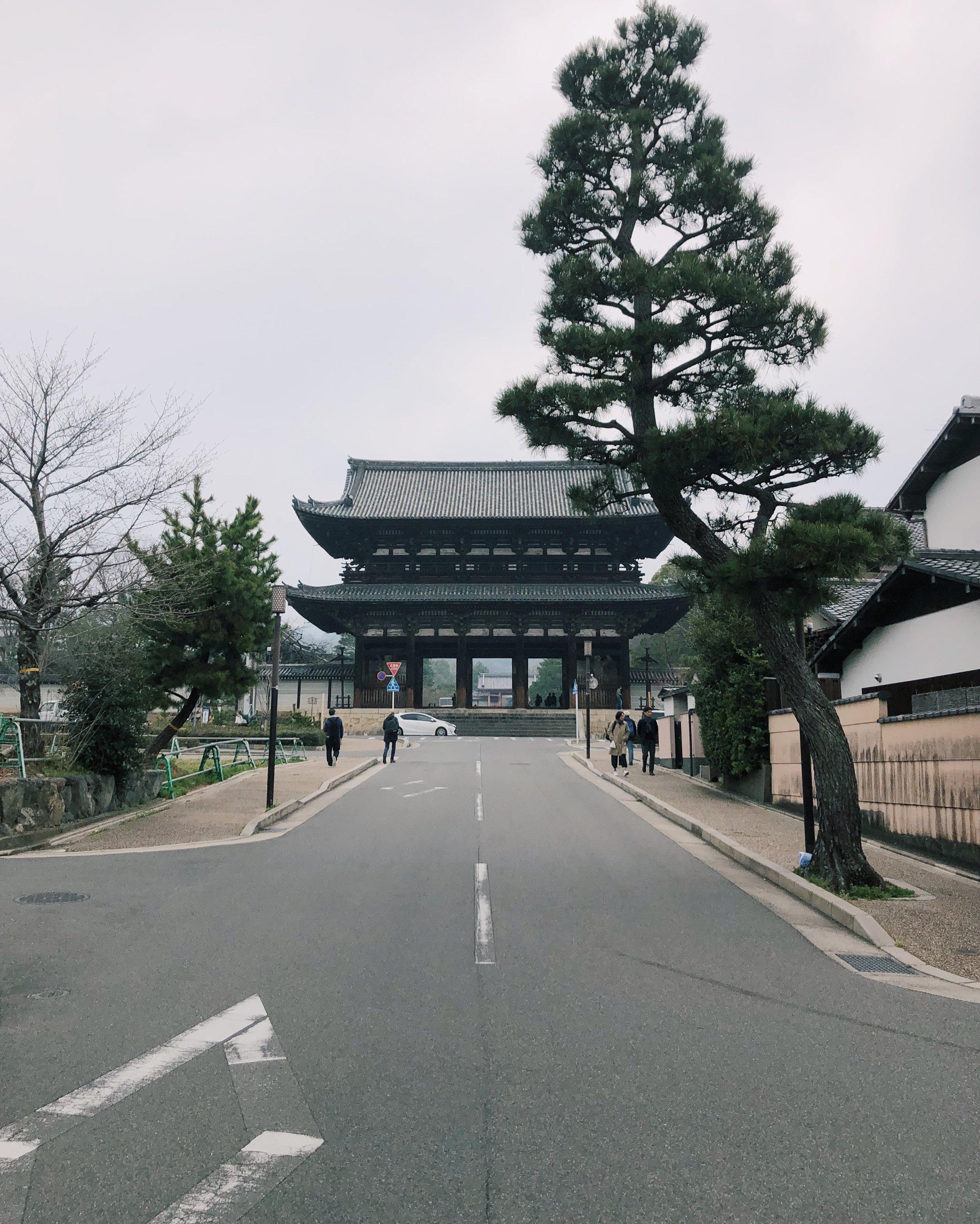 Ninna-ji Temple, Kyoto.