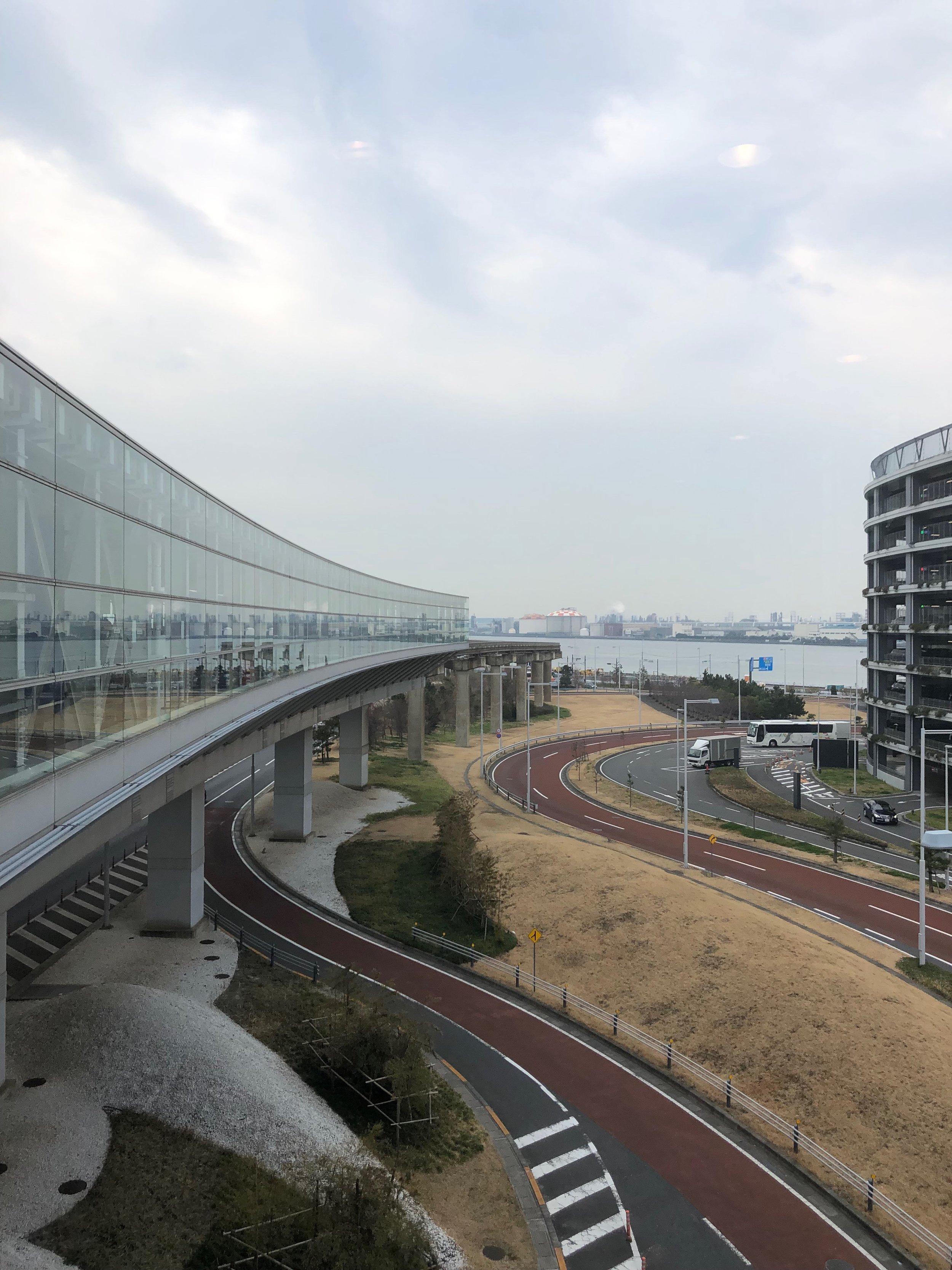 Haneda Airport.
