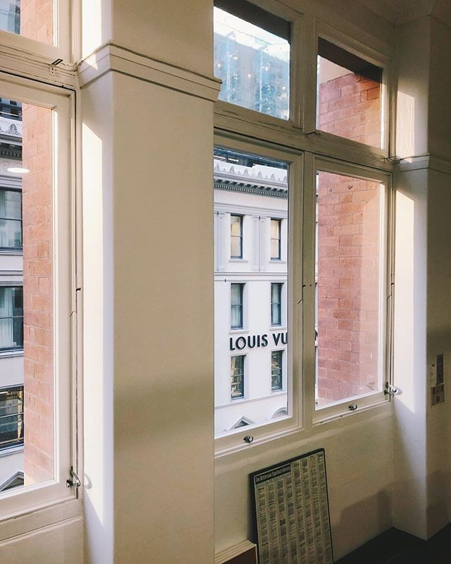 New office. New windows.  What's happening out there?  #newoffice #sydney