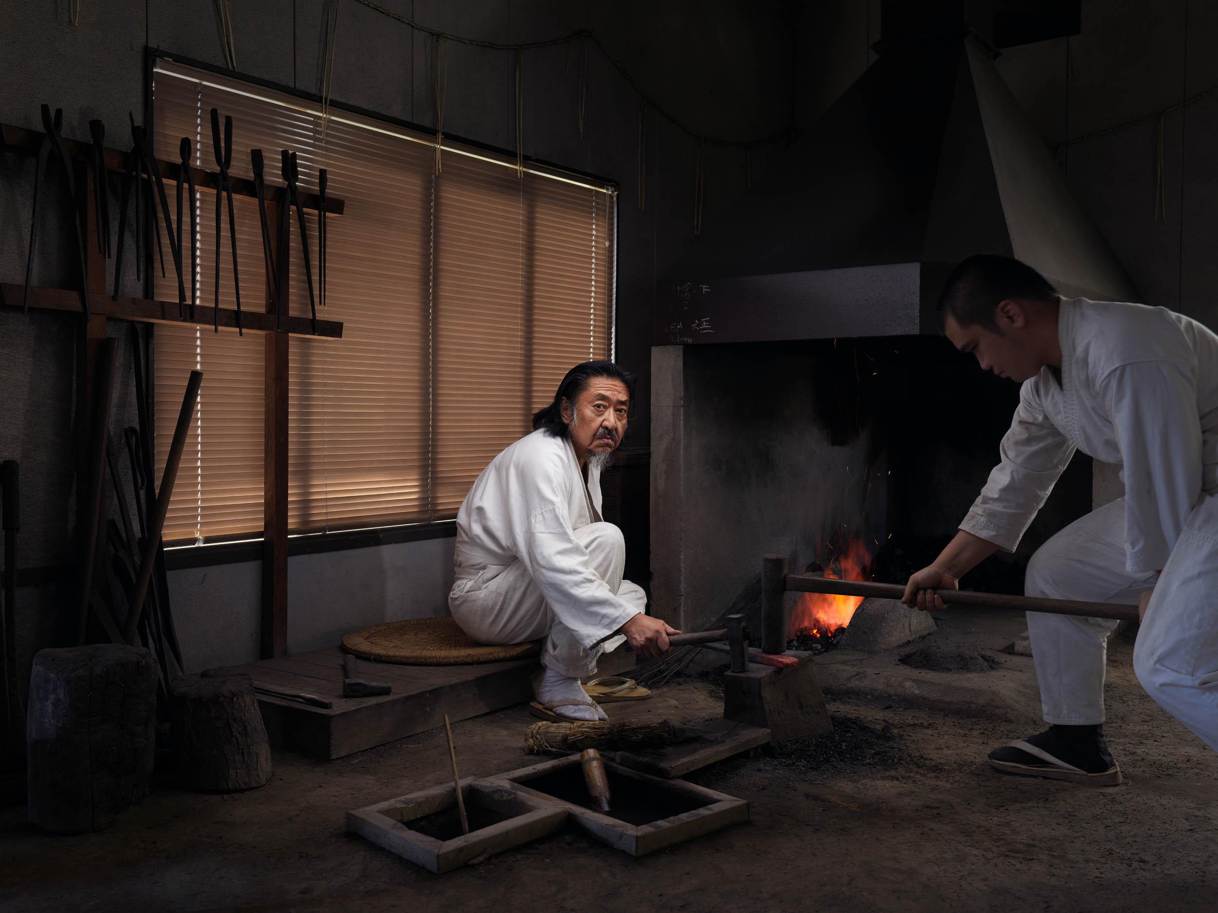 Fujiwara Kanefusa - Sword Maker