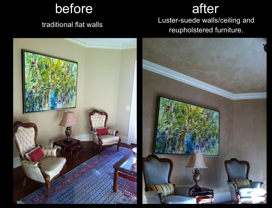 LusterStone Walls and Ceiling