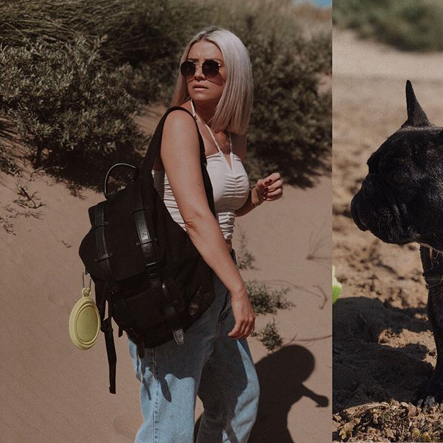 I've been making good use of my vegan @gastonluga backpack, taking it with me to festivals plus it's been perfect for everyday use walking the dogs. It has lots of room for dog treats, water bottles and a clip for carrying the dogs bowl! 🐾#gastonluga #gastonlugauk #packitwithGL 🎒(Gifted)  @gastonluga have kindly given me a 15% discount code for guys. You can use the code NM15, plus with every purchase you receive a FREE passport holder and free delivery 🧳 . . . . . #fbloggersuk #manchesterblogger #northernmagpie #styleblogger  #discoverunder10k #dailyootd #anotheroutfitpost #stylediary #manchesterfashion #ootdpost  #mylookoftheday #ootdinspo #ootdbloggers #streetstyleblogger #whowhatwear #streetstyleinspo #whatiamwearing #outfitgrid #fbloggerstyle #streetstyleluxe #stylesubmit #ootdlovers #frenchie_corner #dogwalks #frenchbulldogmoments