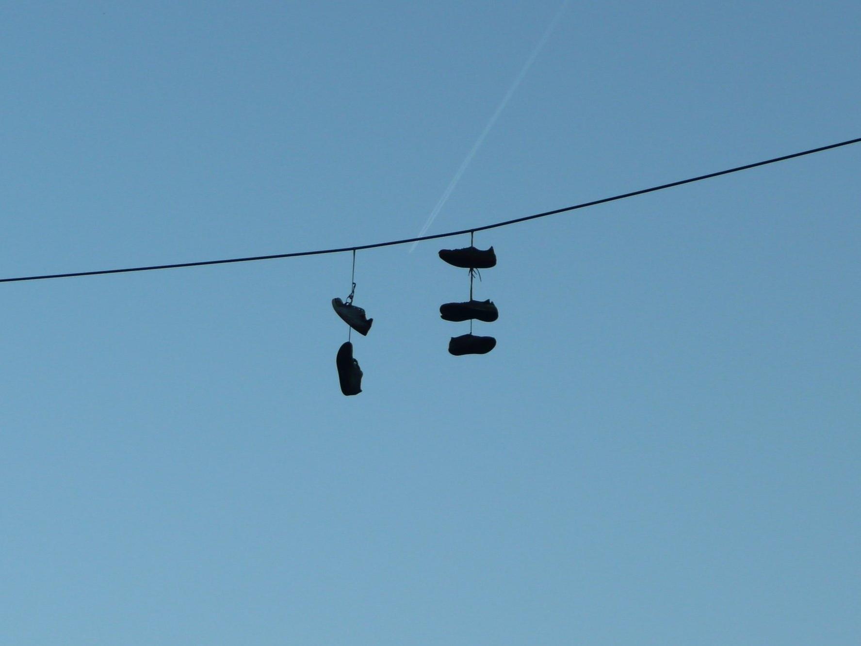 Titel:Ohne Schuhe in den Himmel