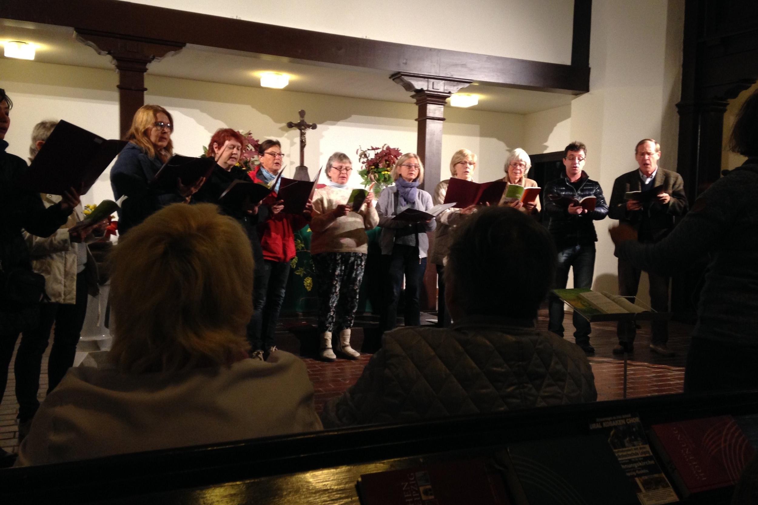 Chor der Sophiengemeinde