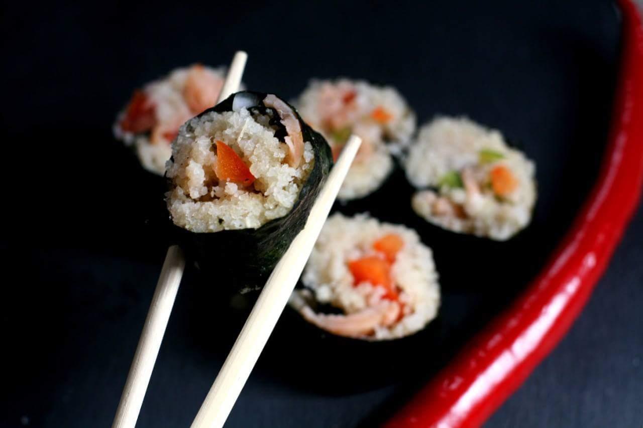 Makis athiéké-saumon - CLICK POUR RECETTE