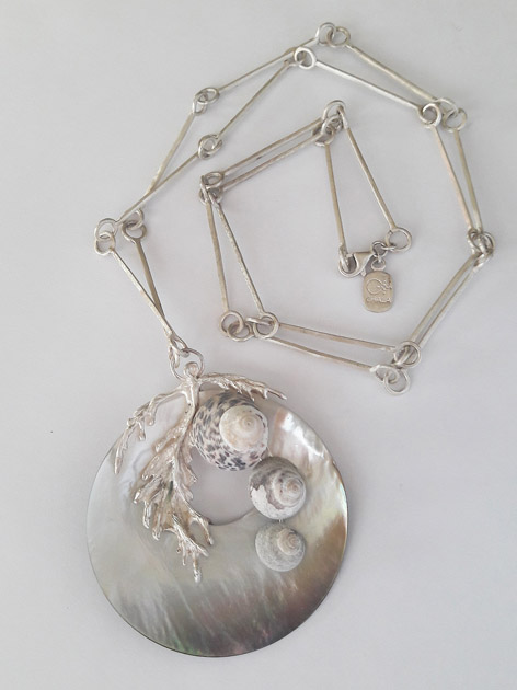 04 Adam the seaweed necklace with mother of pearl.jpg
