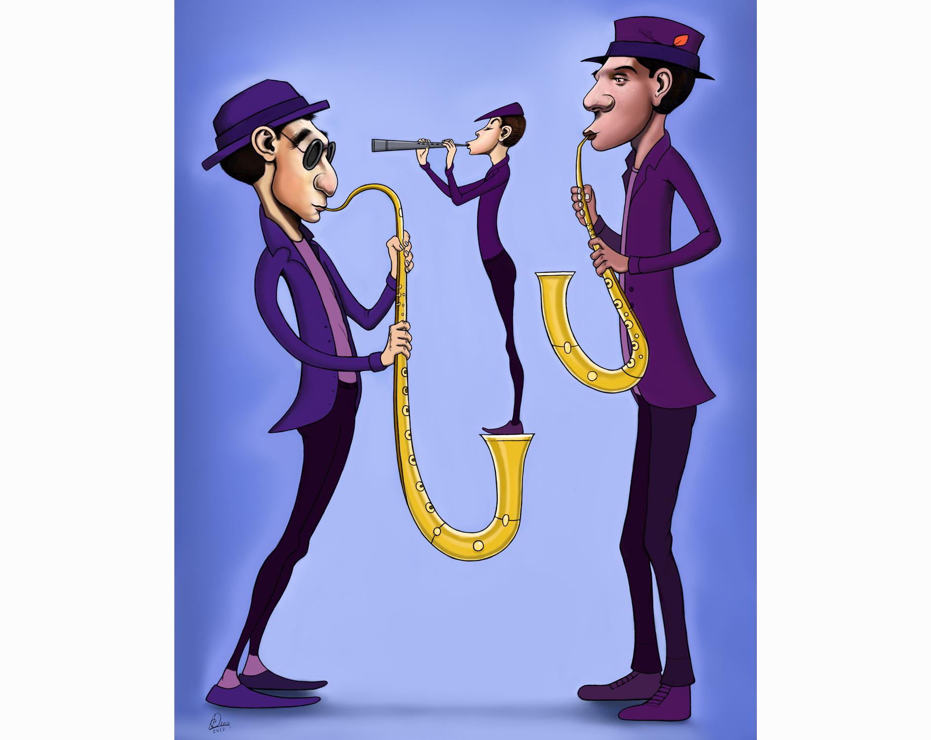 Saxophoners