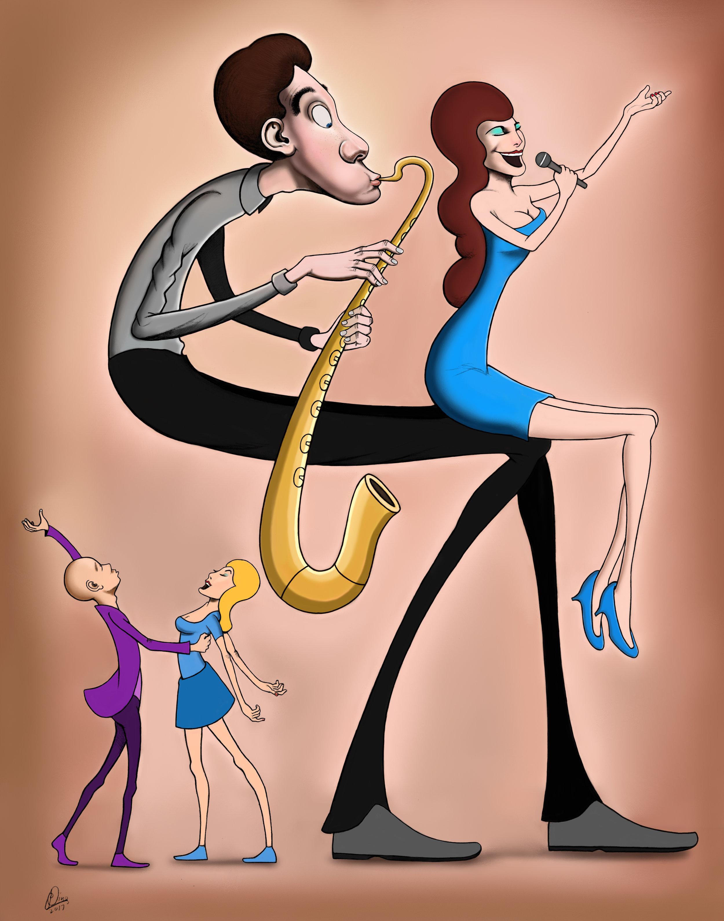Leg Singer