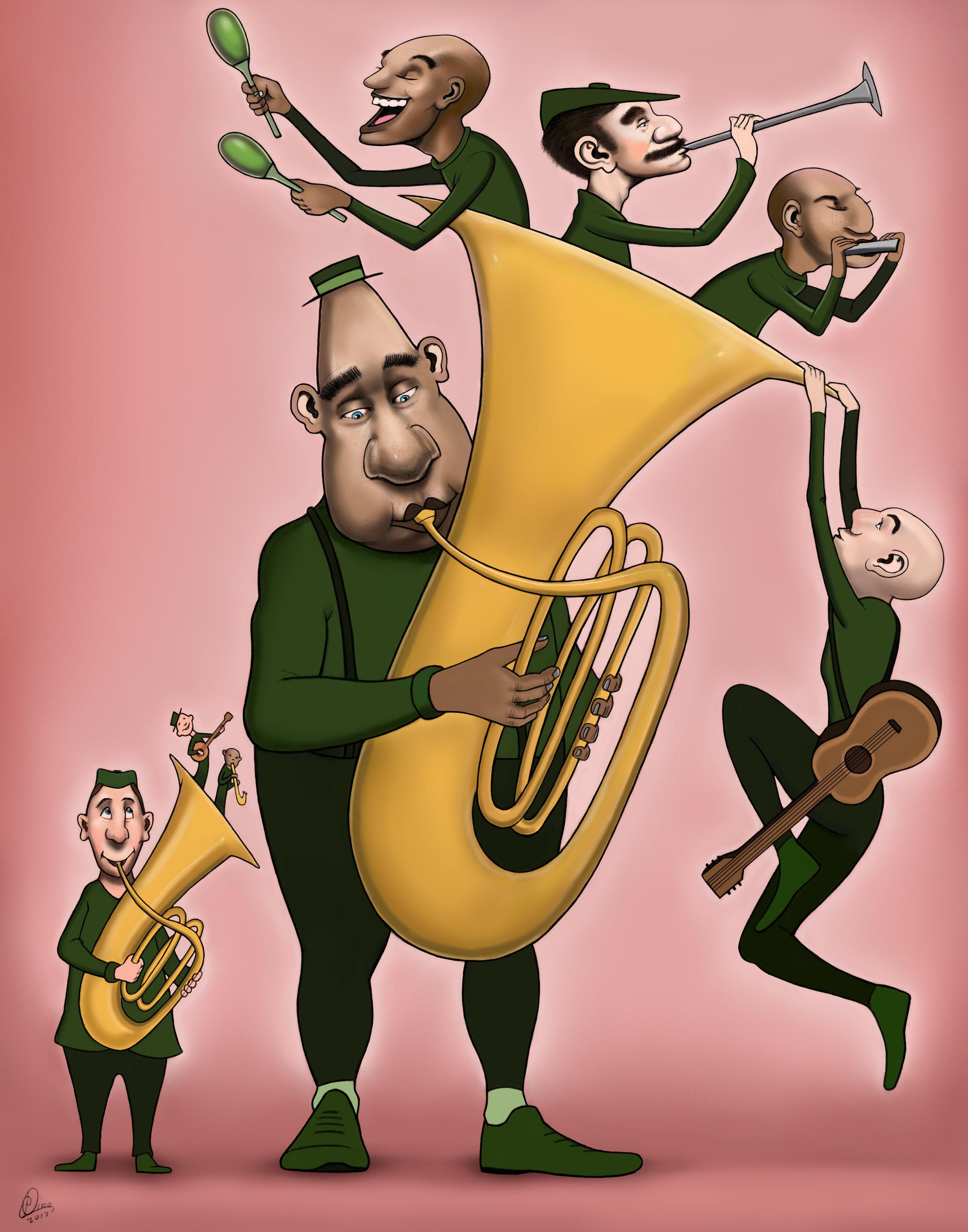 The Tuba Player