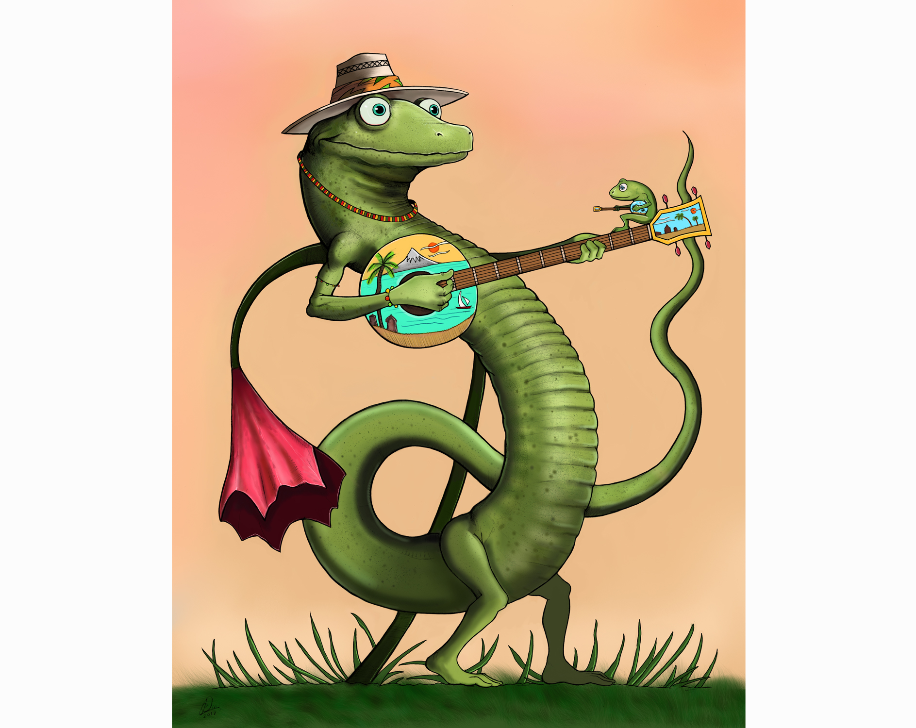Salamander Banjo