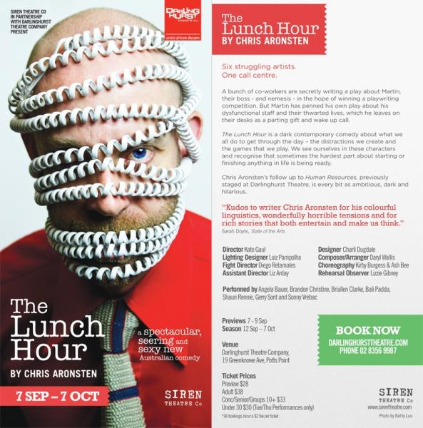 The Lunch Hour by Chris Aronsten (World Premiere)