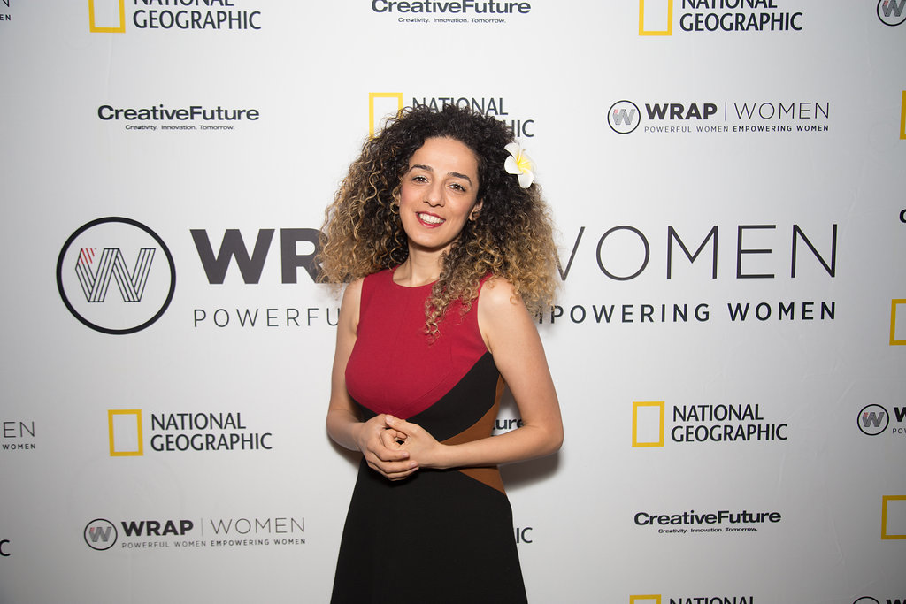 Author-activist Masih Alinejad at the Power Women Breakfast D.C.   Photographed by E. Brady Robinson for TheWrap.