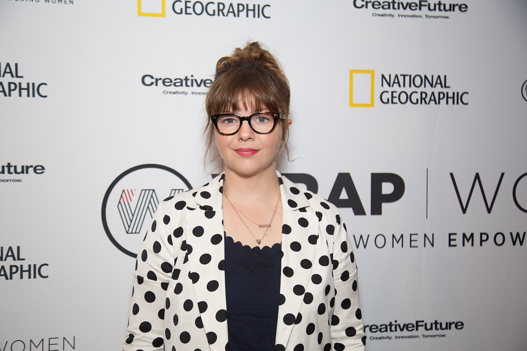A  ctress-activist Amber Tamblyn at the Power Women Breakfast DC. Photographed by E. Brady Robinson for TheWrap.