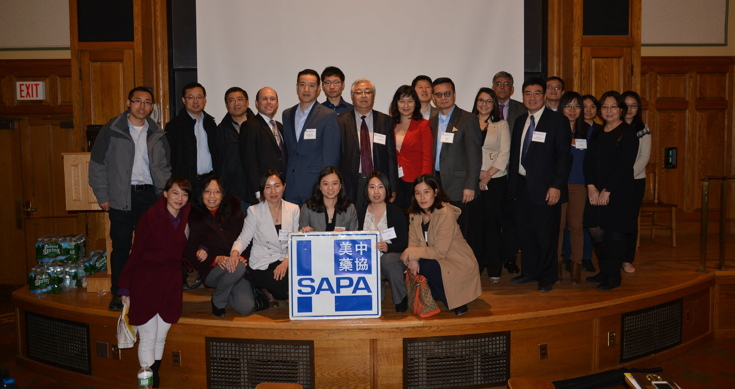 SAPA-CT group and UCONN faculty & students