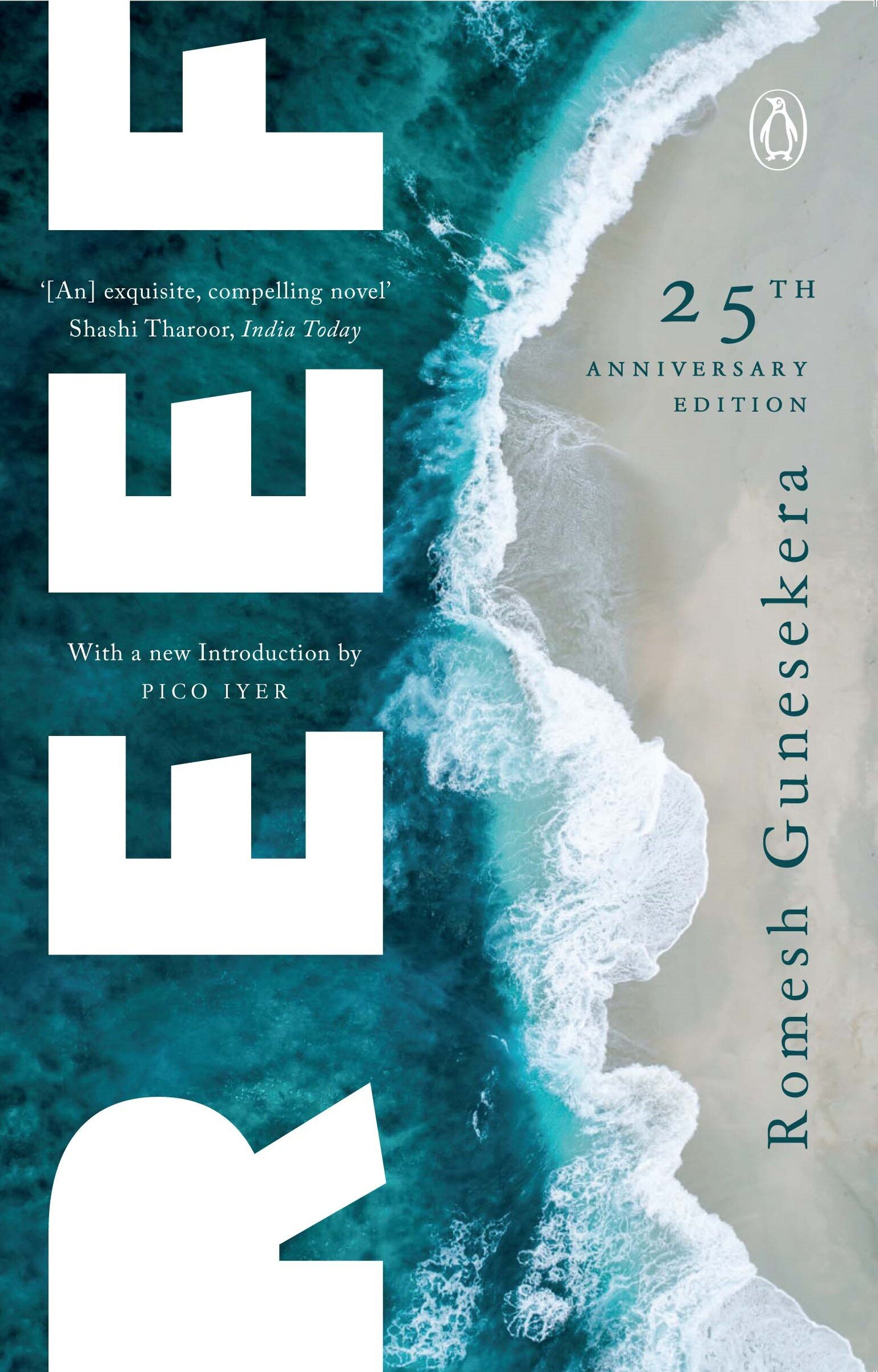 A New edition - The 25th Anniversary Edition of Reef will be published by Penguin India on1 November 2019.