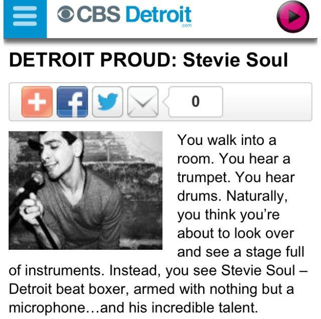 Stevie Soul CBS