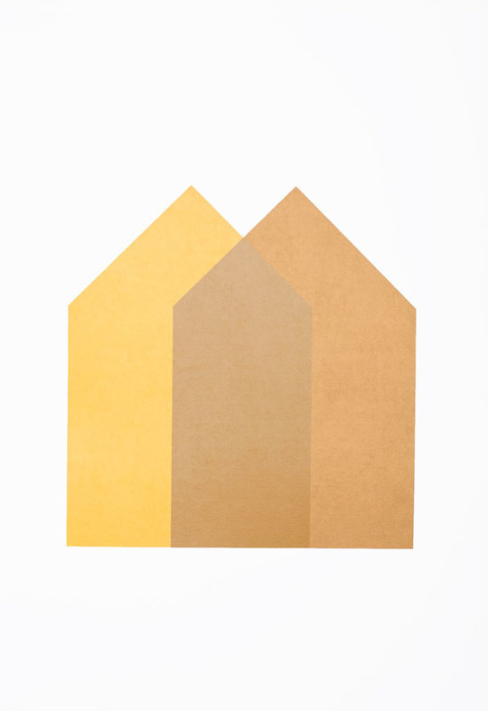 Two Houses - Bronze and Gold