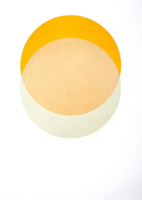 Circles - Yellow and Warm Grey