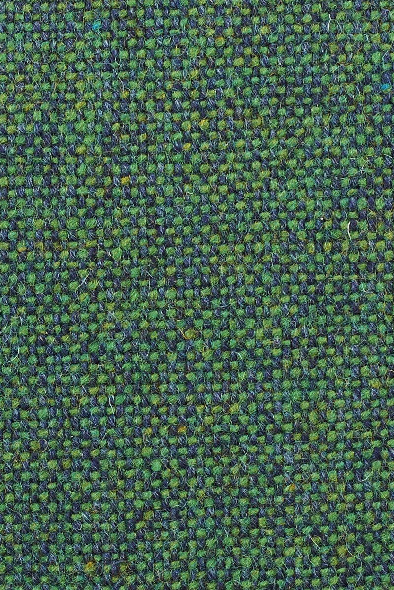 Close up of Lane's Twin Tone Cushion in Forest Green.