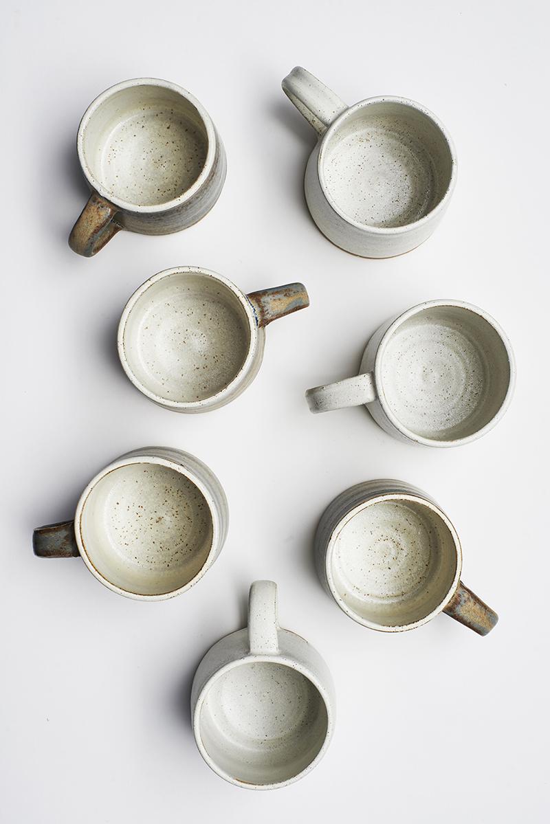 Lane and Parkwood Pottery stoneware mugs