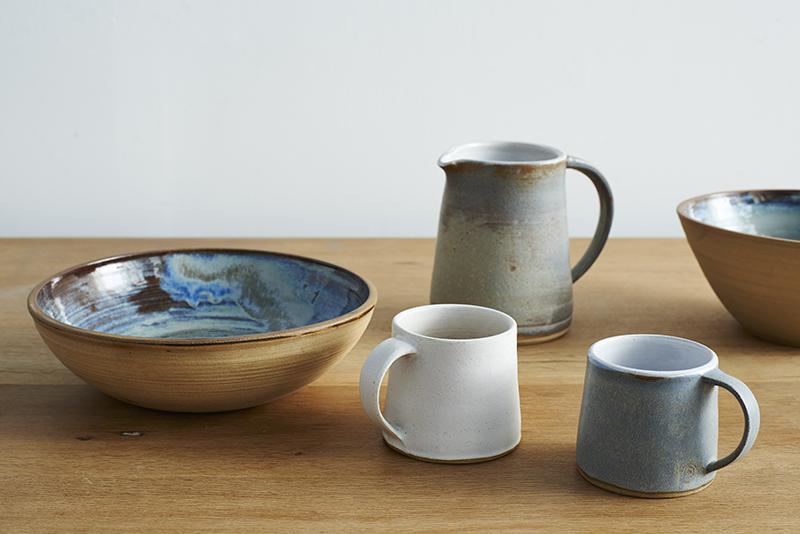 Lane & Parkwood Pottery hand made stoneware ceramics