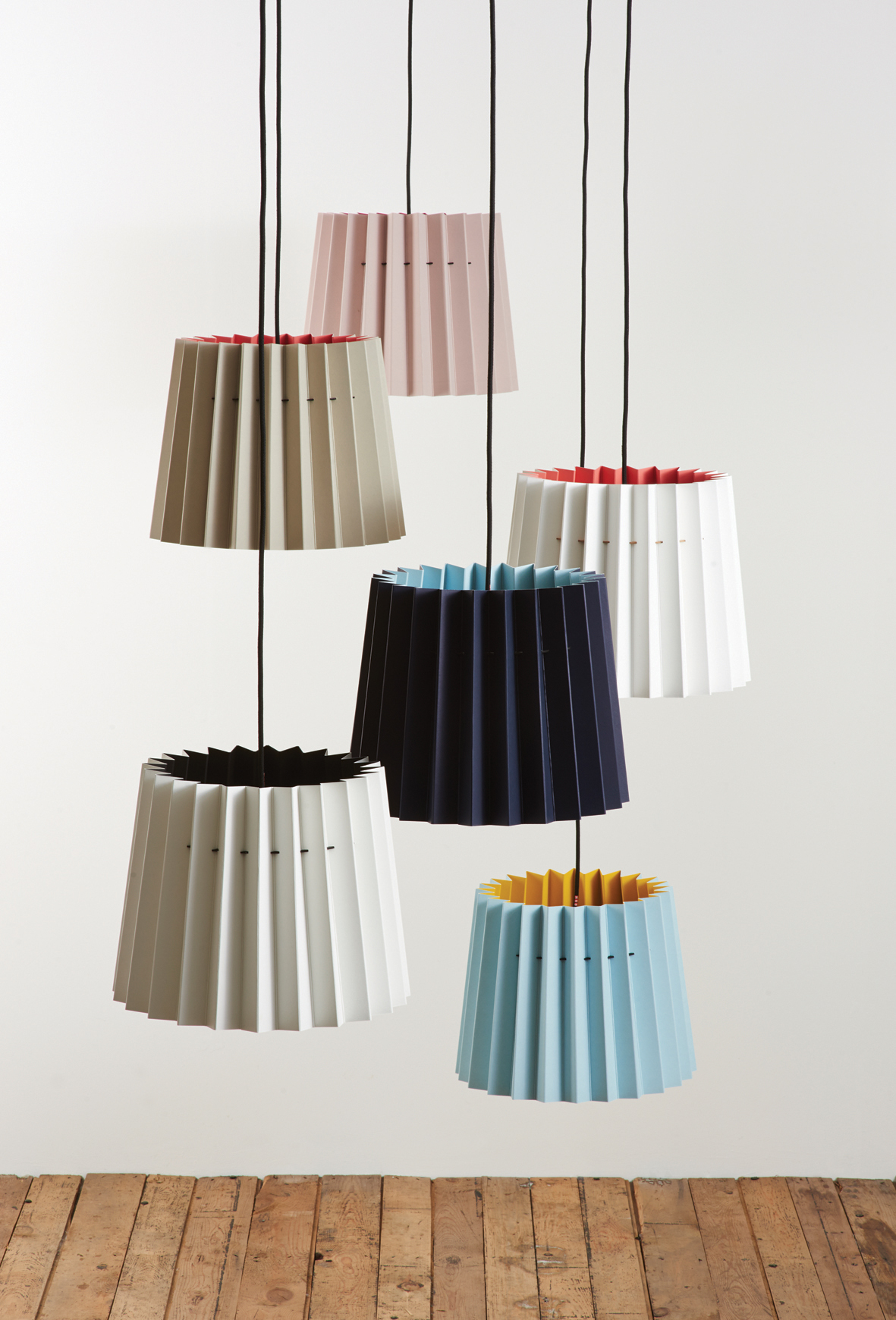 Lane & Little Greene Twin Tone Lampshades