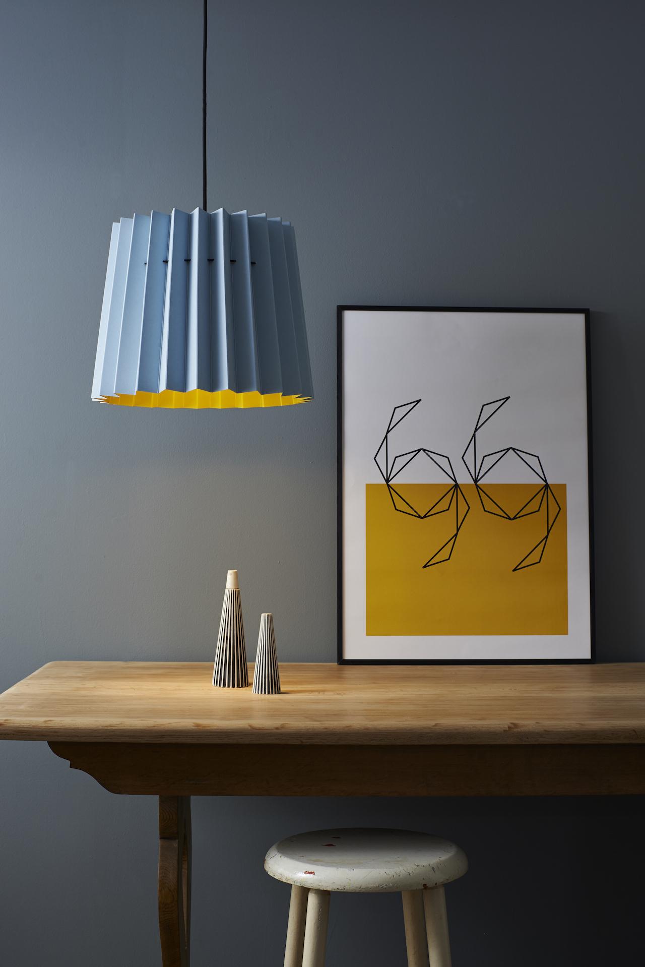 Brighton and Mr David Lampshade and Swimming Yellow Print sfw 150.jpg
