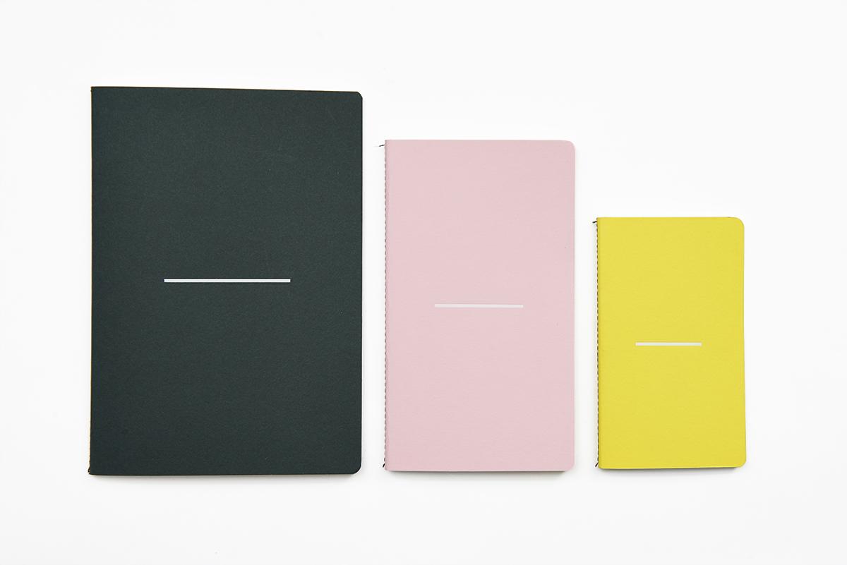 Lane Twin Tone Notebook Set Racing Green Candy Pink Factory Yellow LR.jpg