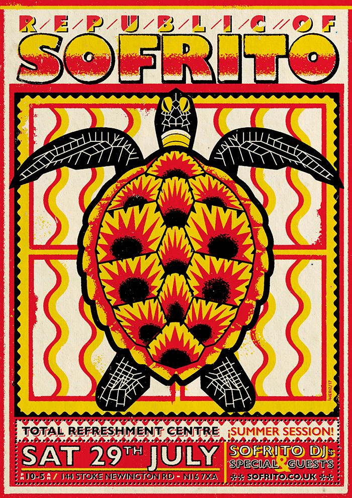 Lewis Heriz  'Sofrito' illustration .