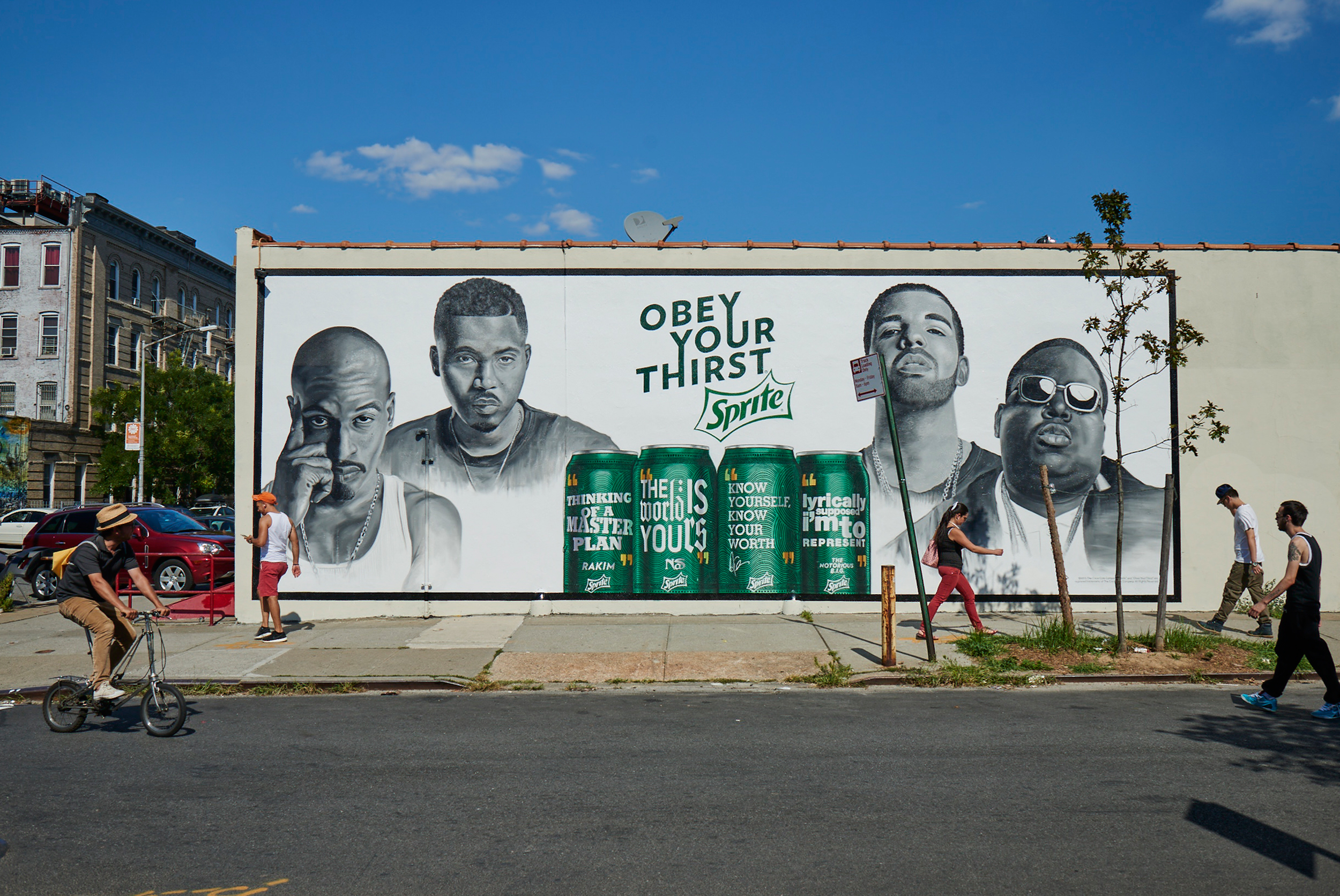 SPRITE / OBEY YOUR THIRST