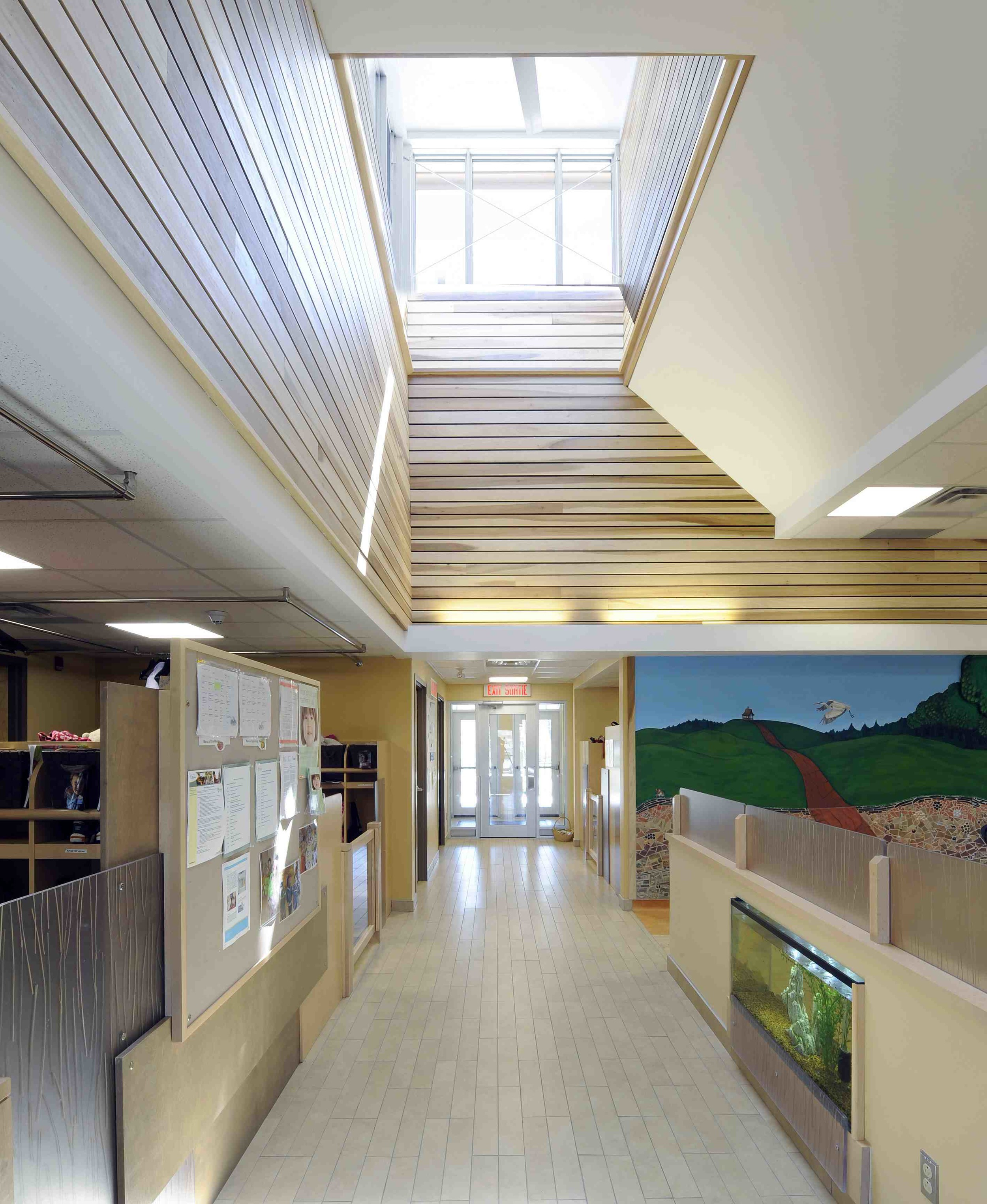 LEED-NC® Silver Certified Huron Early Learning Child-Care Centre