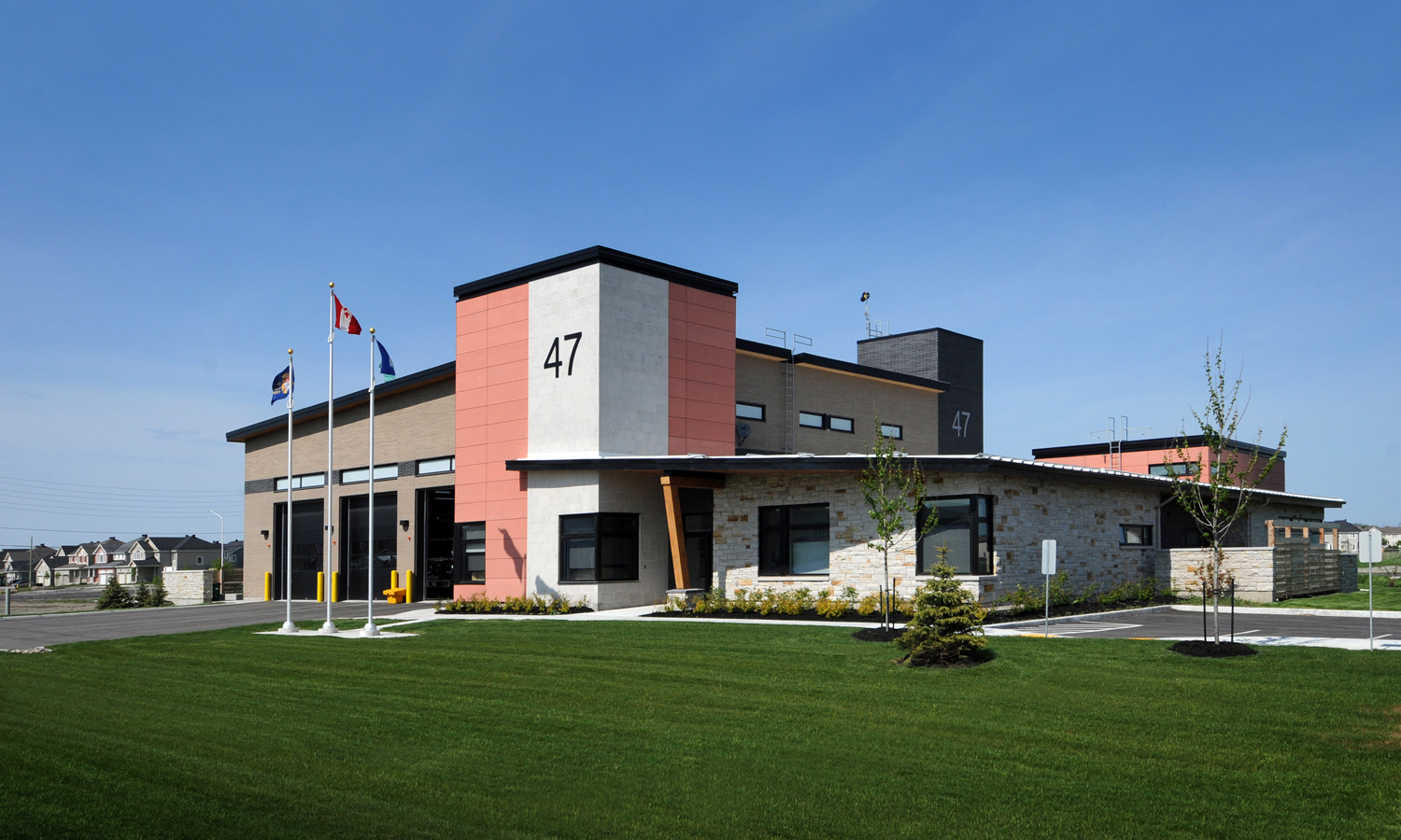 Barrhaven Fire Station #47 | LEED Silver