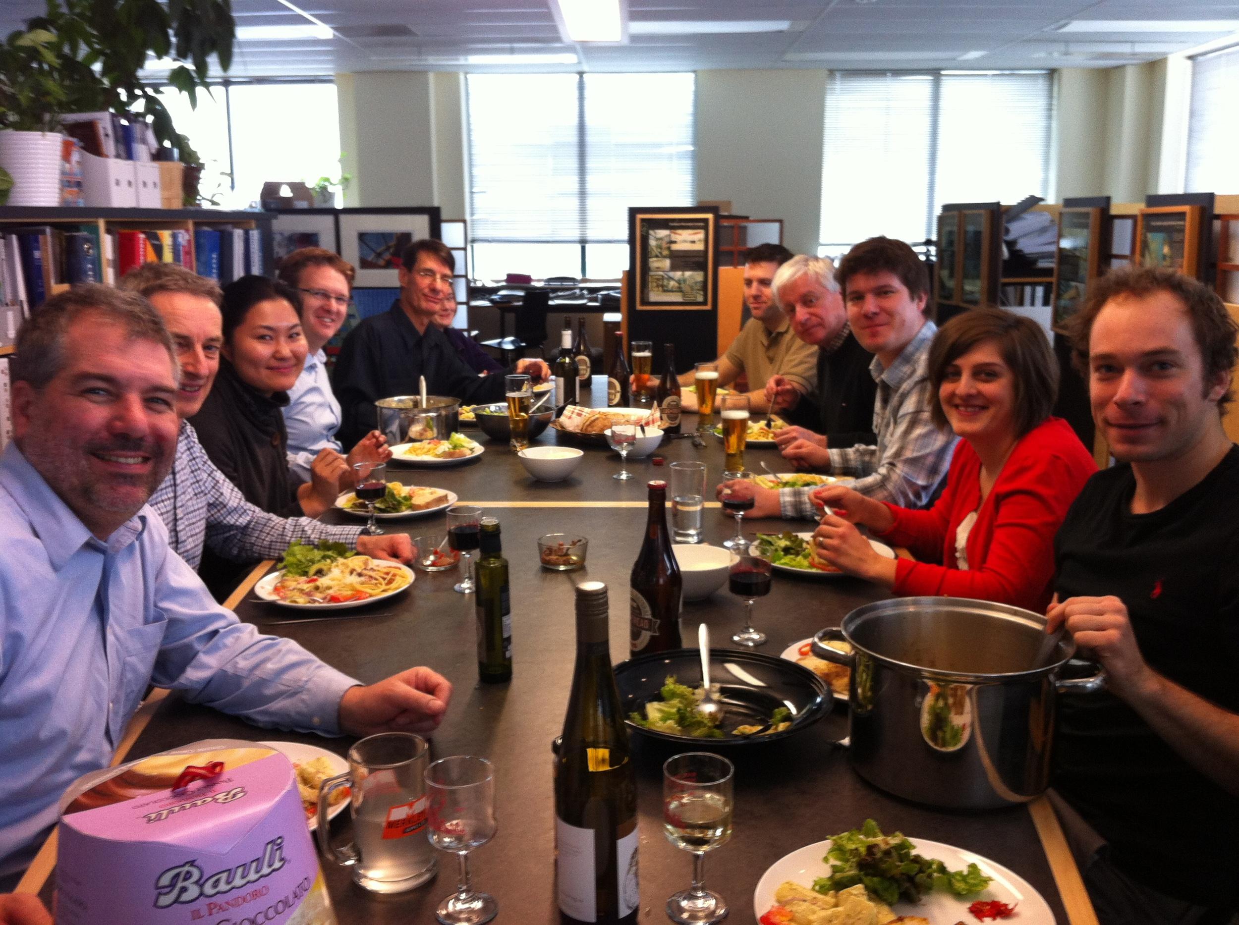 Potluck Lunch 2014